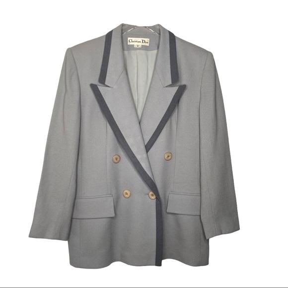 Christian Dior Vintage Wool Blazer